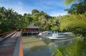 Our Manado fleet in the Lagoon