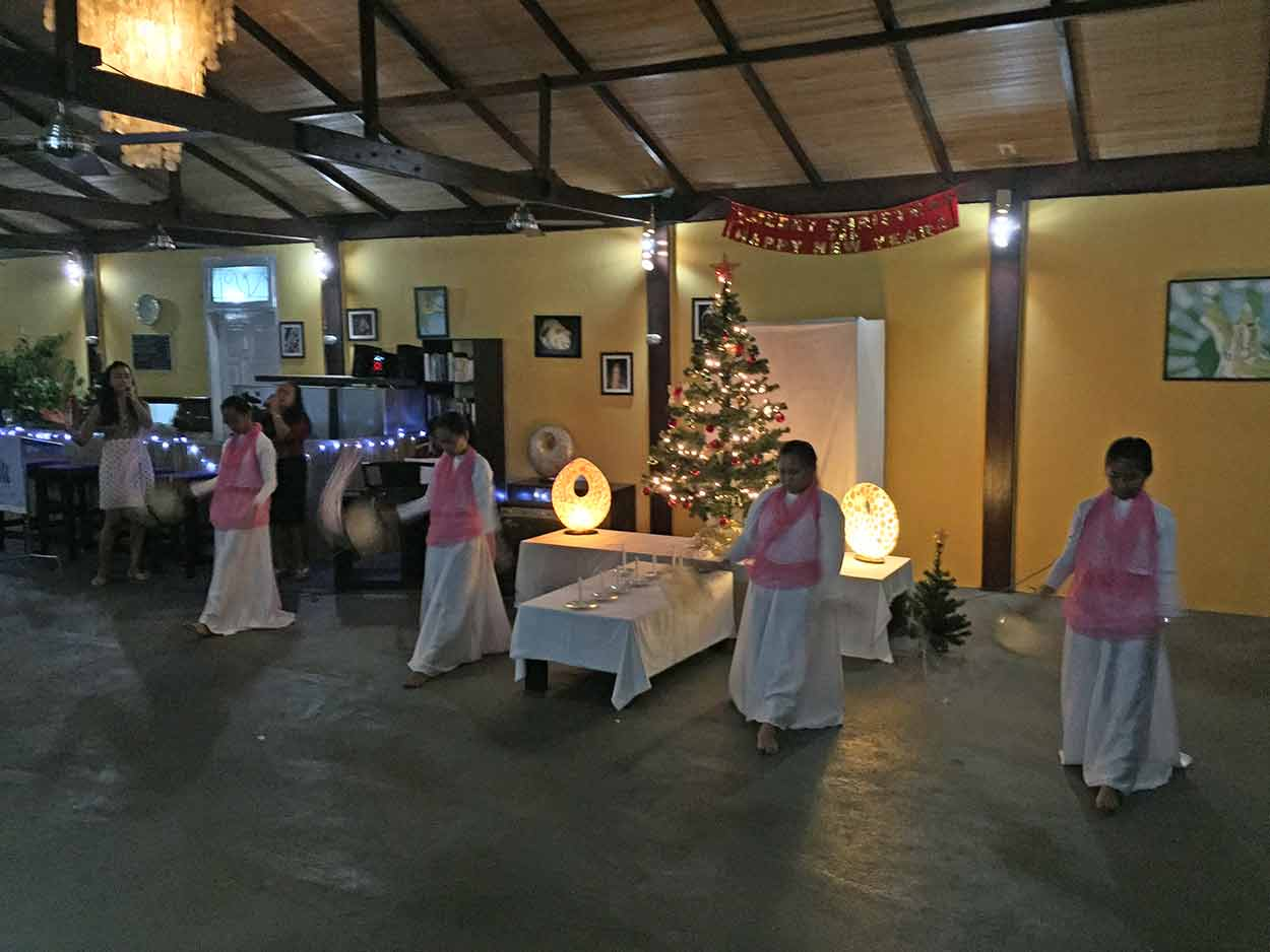Christmas Celebration at Eco Divers