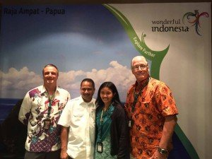 Group photo with the Minister of Tourism, Republic of Indonesia