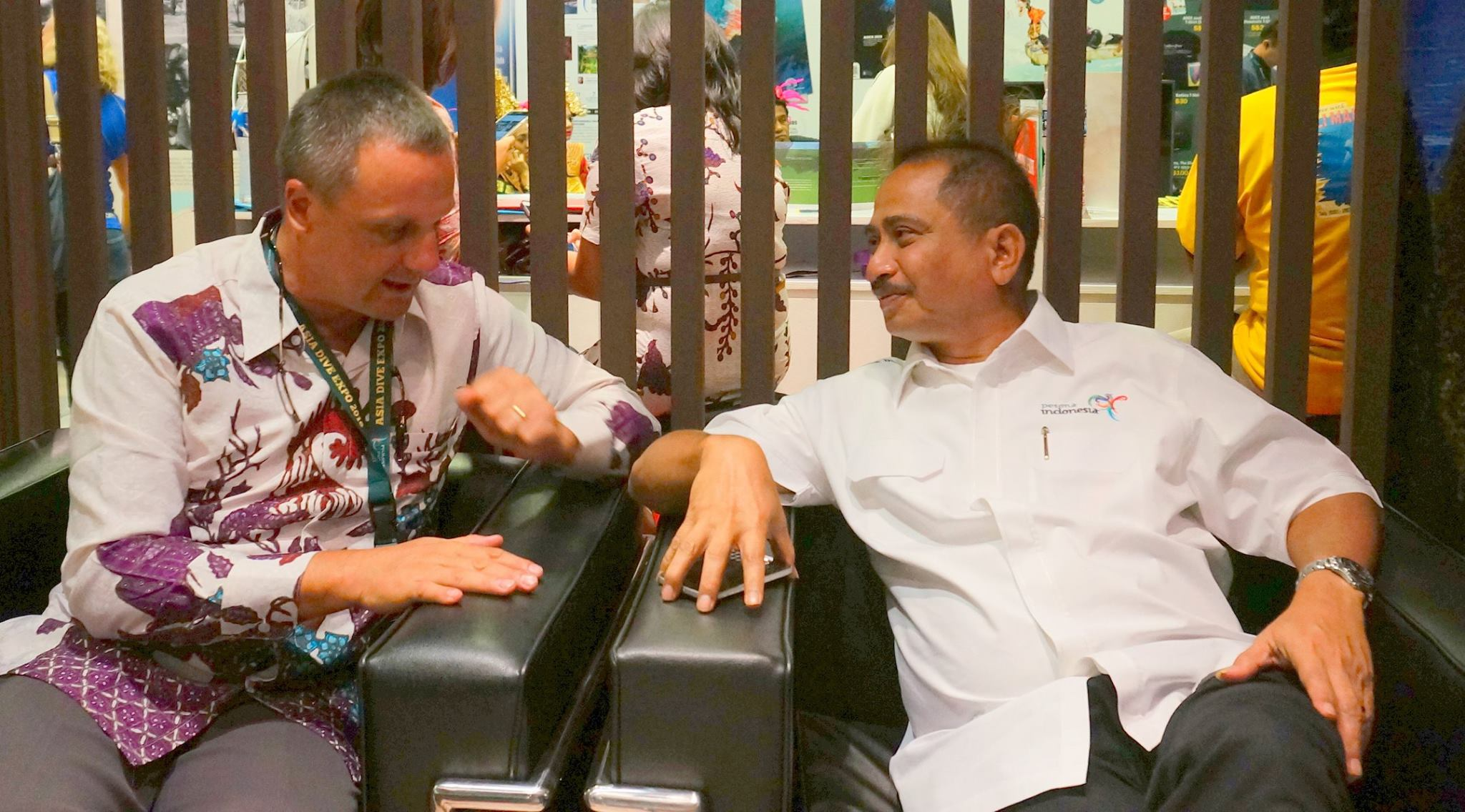 With his excellency Bapak Arief Yahya, Minister of Tourism, Republic of Indonesia