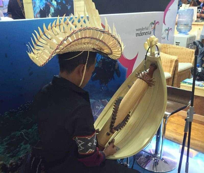Sasando, an incredible instrument!