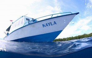 Kayla from the water